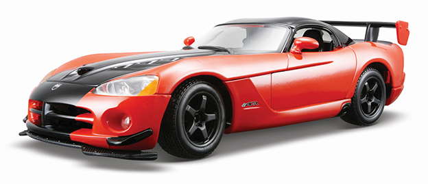 1:24 DODGE VIPER SRT 10 ACR RED